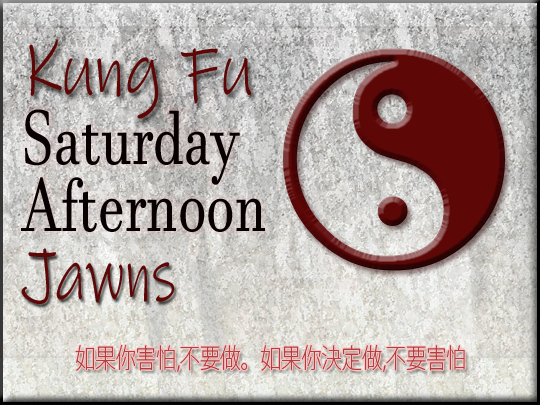 Kung Fu Saturday Afternoon Jawns