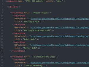HTML CSS code